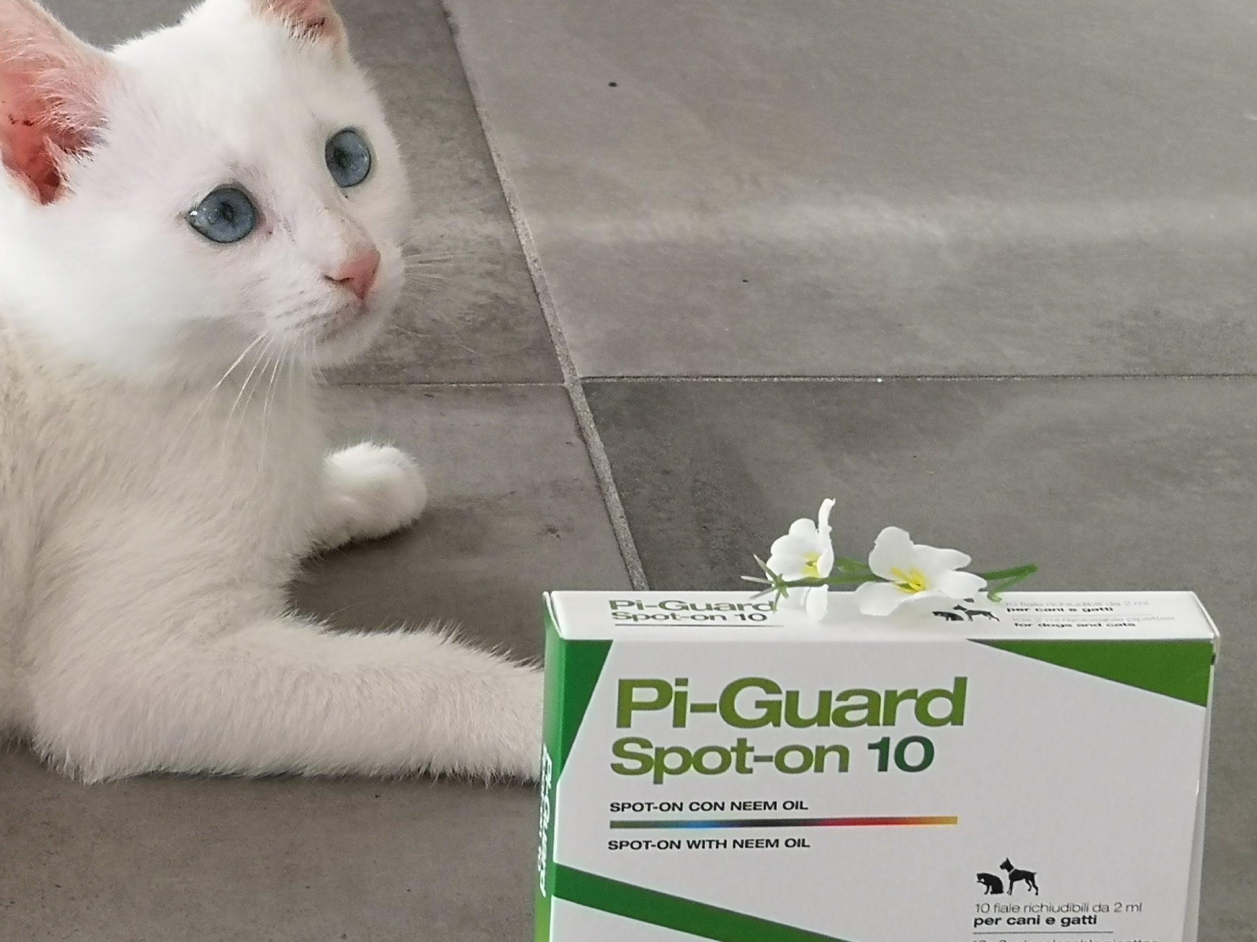 Pi-Guard - antiparassitario gatti, cani, animali domestici
